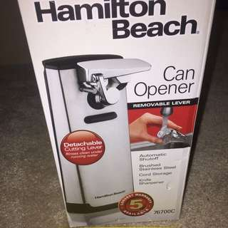 Hamilton Beach Automatic Can Opener