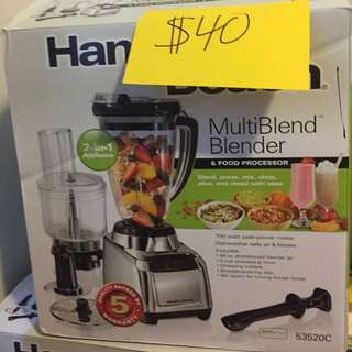 Hamilton Beach Multi Blender