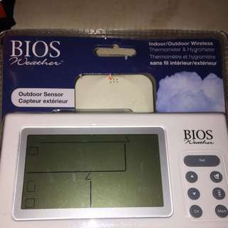 Bios Indoor/ Outdoor Thermometer