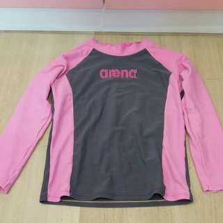 Pre-loved Arena Swimming top For 8 Year Old Onwards.
