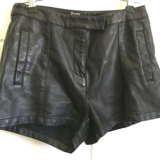 Bardot Leather Shorts