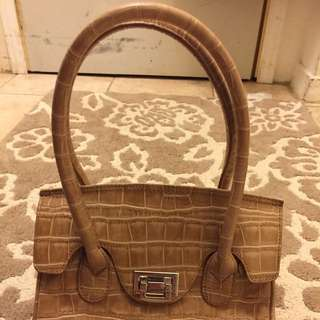 Danier Tan Leather Purse