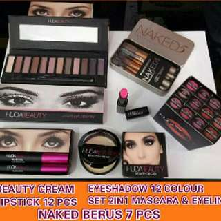 Huda Beauty makeup combo