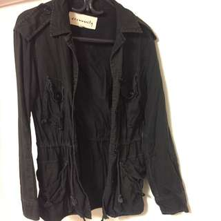 Aritzia Community Black Utility Jacket