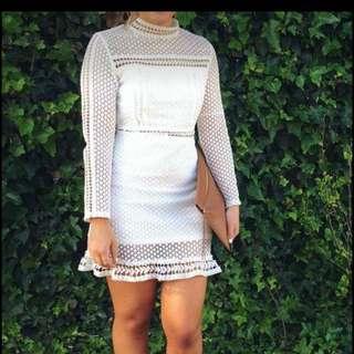 Sz Small White Dress