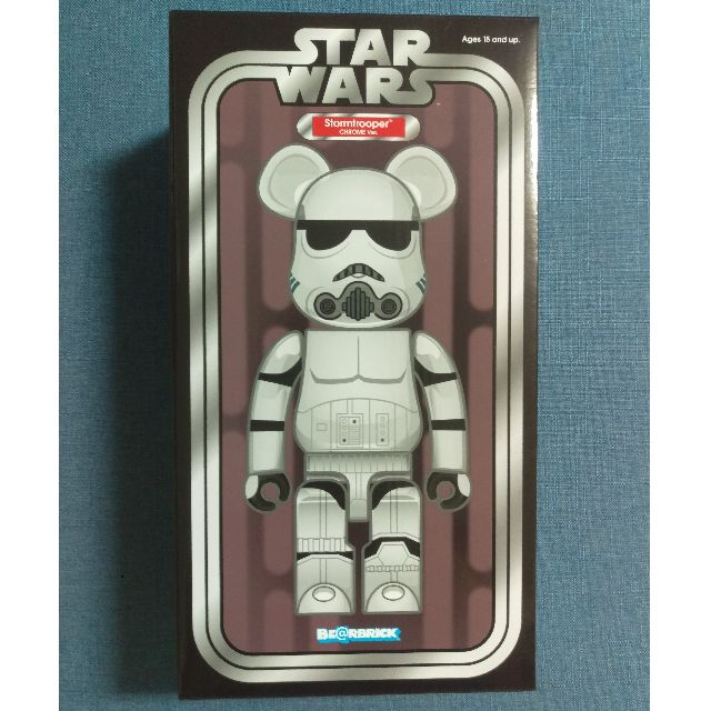 2fc3be12 Bearbrick 400% Starwars Stormtrooper & Darth Vader Holographic, Toys ...