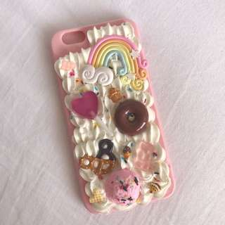 (6-6s) ONE OF A KIND Kawaii Deco Phone Case