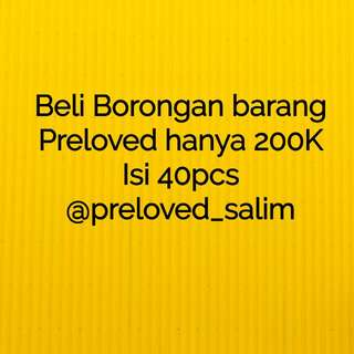 Preloves Borongan