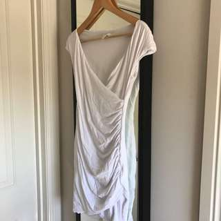 KOOKAI WHITE BABAIDOS DRESS