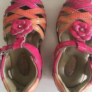 Stride Rite Shoe Siize 22, Uk 5.5, US 6W