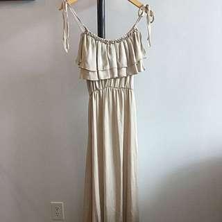 H&M: Silk Gown
