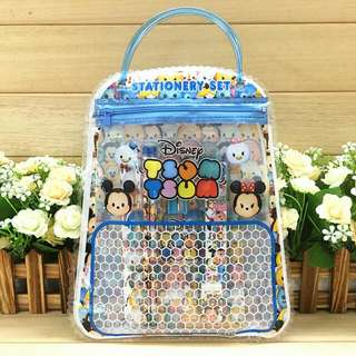(Ready Stock) 7 In 1 Tsum Tsum Handbag Stationery Set / Goodies Gift