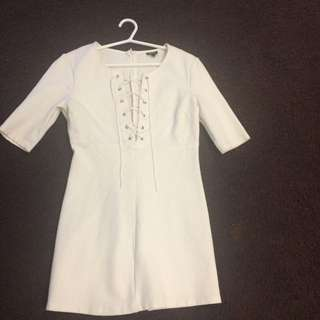 Bardot Corset Dress