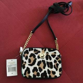 Authentic Michael Kors Sling Cross Body Bag