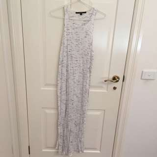 Guess Long White Top Size M