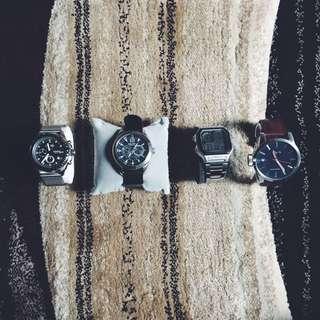 WTS: Watches Fossil/Nautica/Nixon