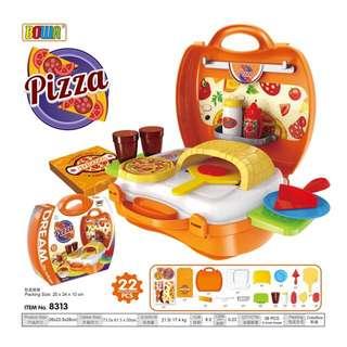Kid's Pretend Play Set-- Pizza