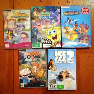 Assorted PC Games For Children
