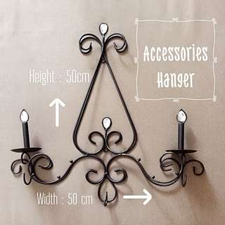 Classic Chandelier Hanger For Accessories (Wrought Iron)