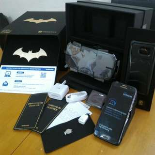 Samsung Galaxy S7 Edge Batman Injustice Edition