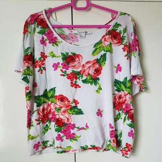 Flowy Floral Top (Free Shipping)