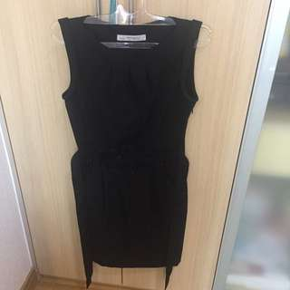 Zara Basic Black Party Dress Size Small