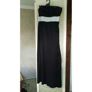 Black & White Formal Dress