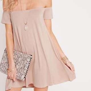 Missguided Petite Off Shoulder Dress