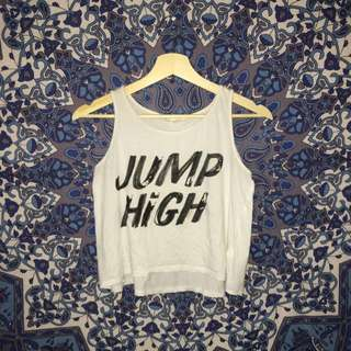 JUMP HIGH tank top