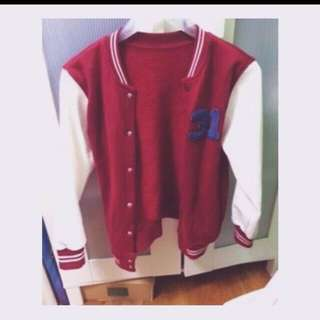 💖正品👍✨ ZARA 紅色 棒球外套