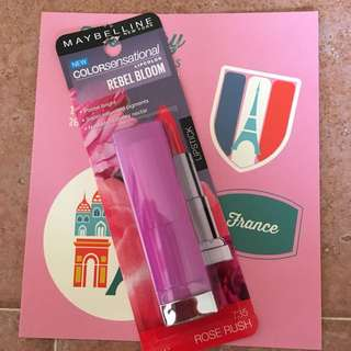 Maybelline Colour Sensational Rebel Bloom Lip Colour