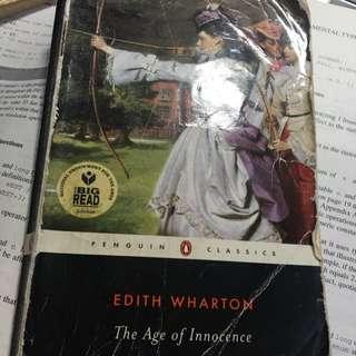 EDITH WHARTON (The age Of Innocence)