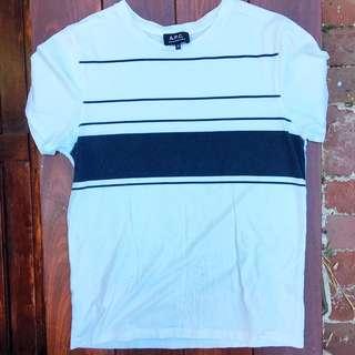 APC Striped Short-sleeved T-Shirt