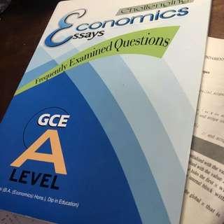 Economics Practice Essay Questions