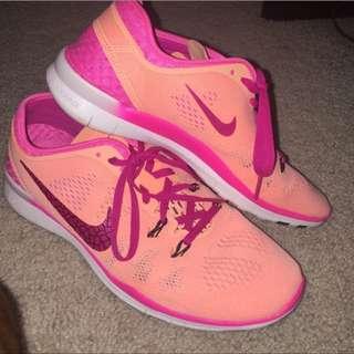 Nike Peach Trainers