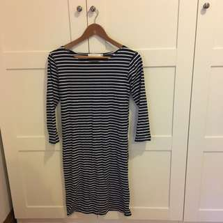 Ollie and Max Striped Dress