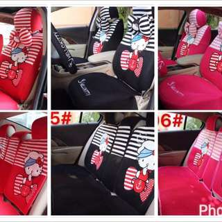hello kitty carseat cover