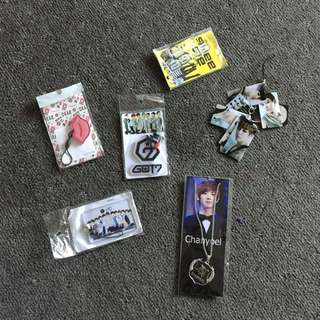 Assorted KPOP Merchandise