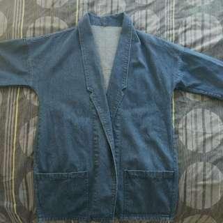 Korean Oversized Denim Jacket