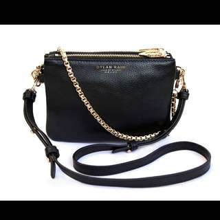 WANTED Dylan Kain LSC Light Gold Chain Bag