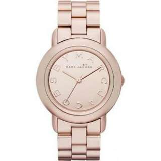 marc by marc jacobs rose gold marci mirror watch