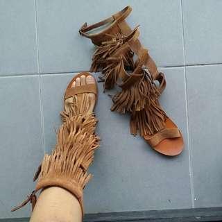 Topshop sude Shoes