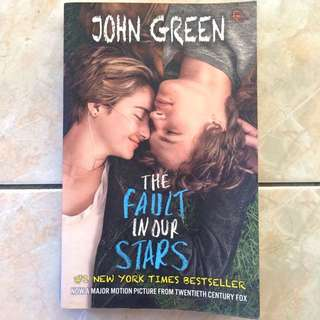 """(Novel) """"The Fault In Our Stars"""""""