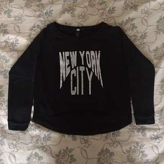 H&M Black Long Sleeves