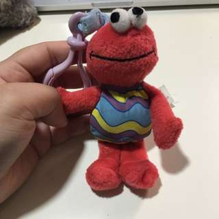 Sesame Street Elmo Keychain