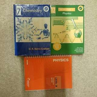 Chemistry & Physics Textbook/ Revision guide