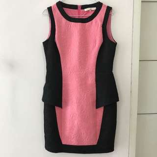 Pink Work Dress