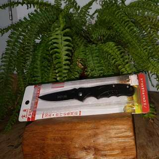 Foldable Camping Knife With Clip