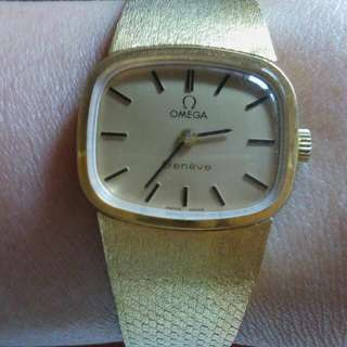 Authentic Vintage Ladies Omega Geneve Watch