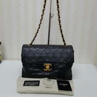 Original Chanel Lambskin Shoulder Bag